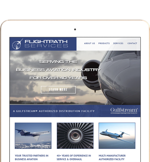Flightpath Services Responsive Website Design