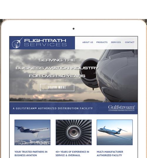 Flightpath Services Responsive Website Design