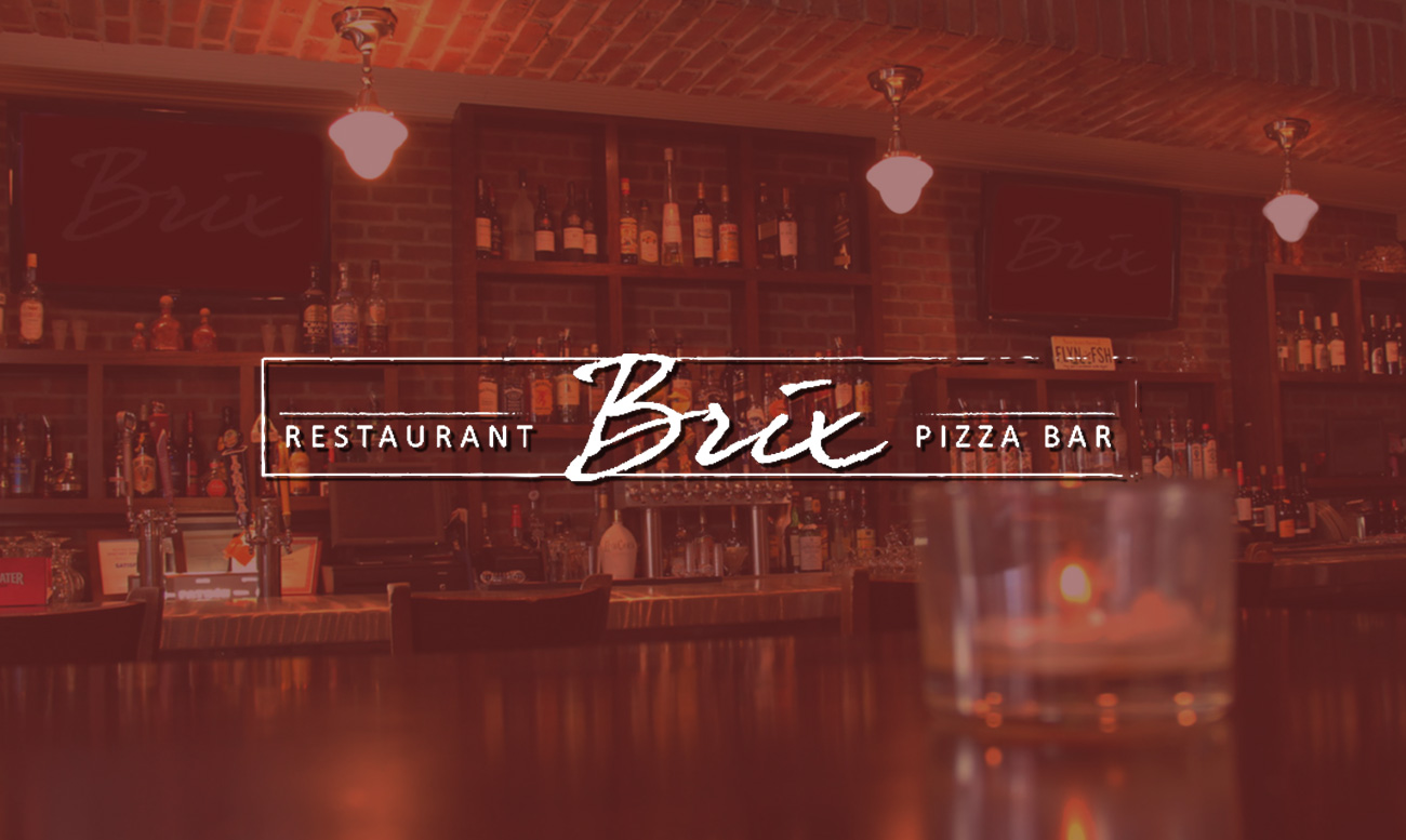Brix Restaurant Web Design