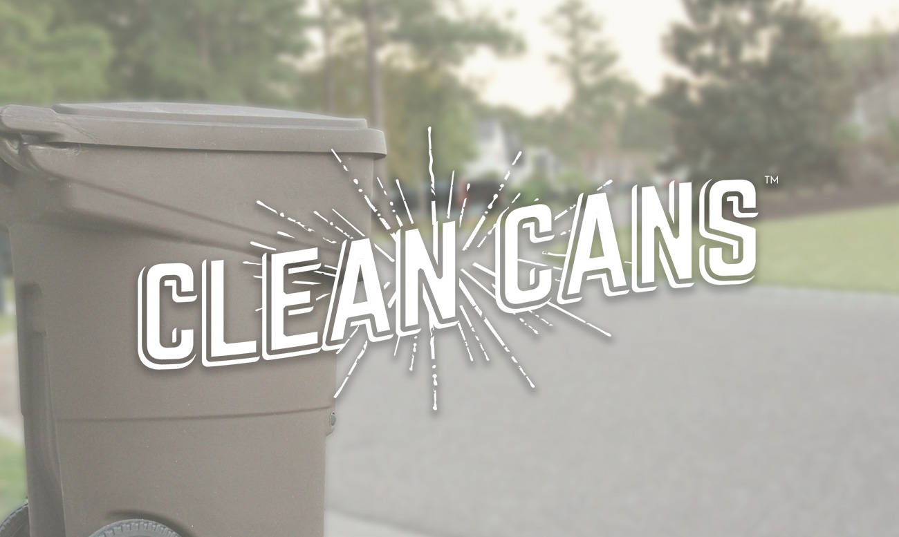 Clean Cans Subscription Business Web Design