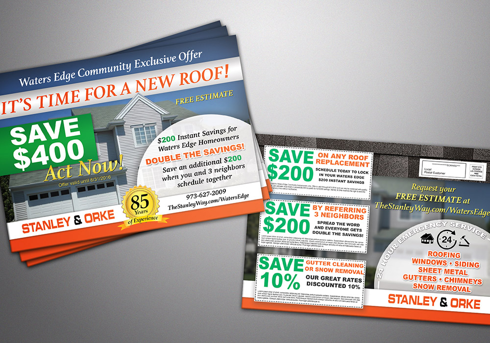 Every Door Direct Mail (EDDM) Postcard Design