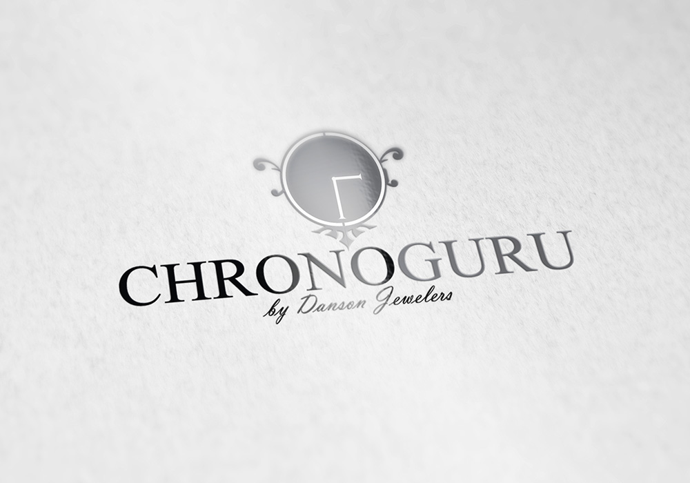 Logo Design - ChronoGuru by Danson Jewelers