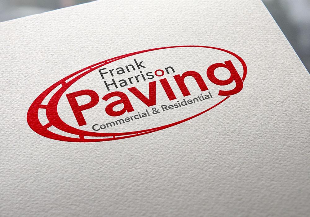 Logo Design & Branding - Frank Harrison Asphalt Paving