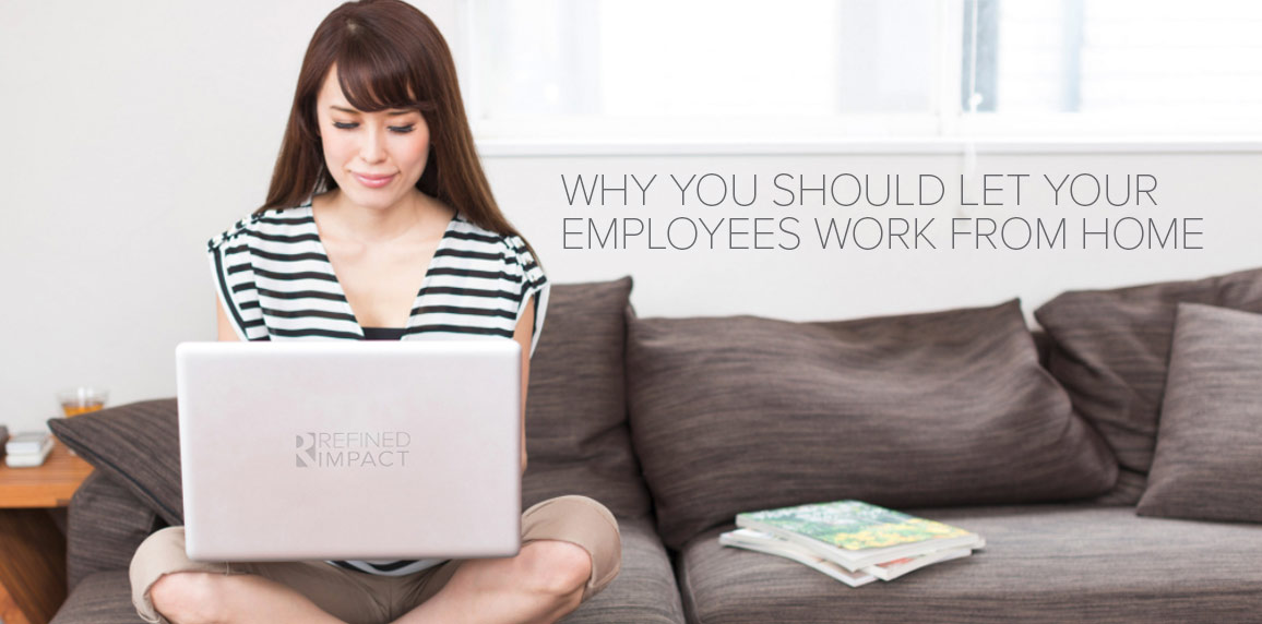 employees work from home Research conducted by pennsylvania state university suggests allowing employees to telecommute can offer business and employees ample benefits telecommuting can reduce business expenses significantly, and it can increase employee satisfaction.